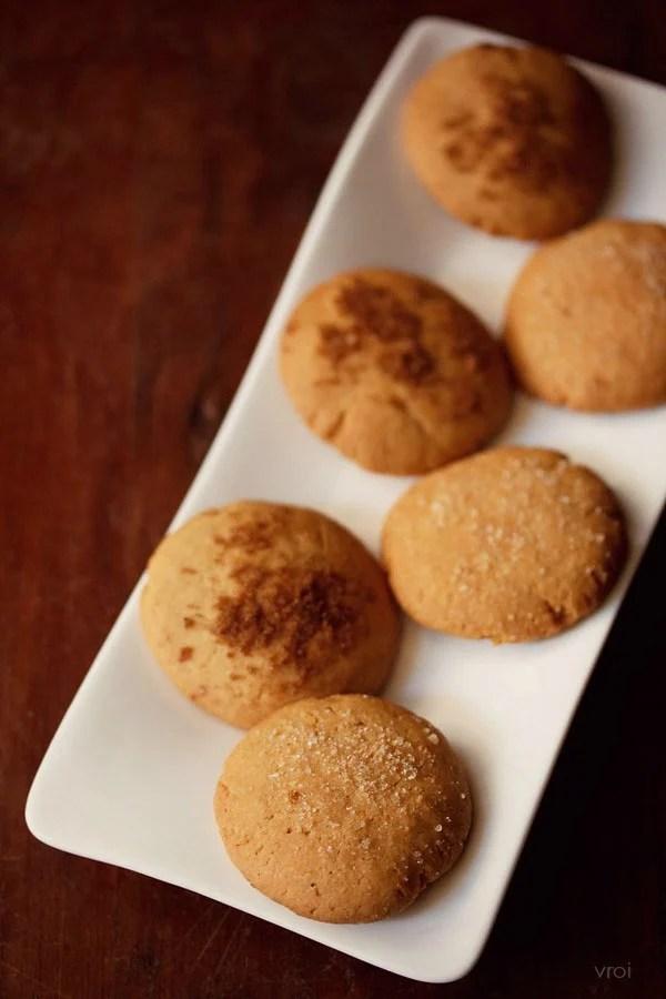 eggless gingerbread cookies, eggless gingerbread cookies recipe