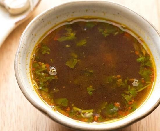 garlic rasam recipe