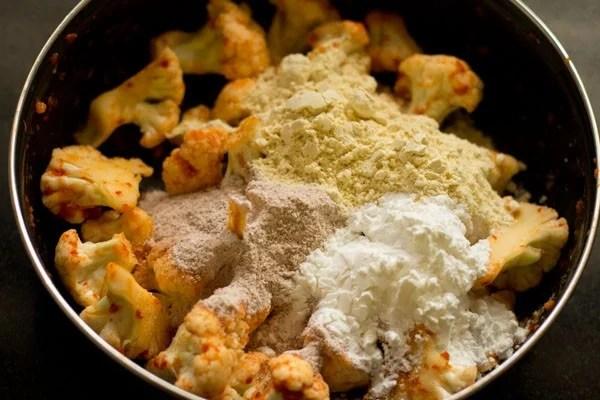 besan for gobi 65 recipe