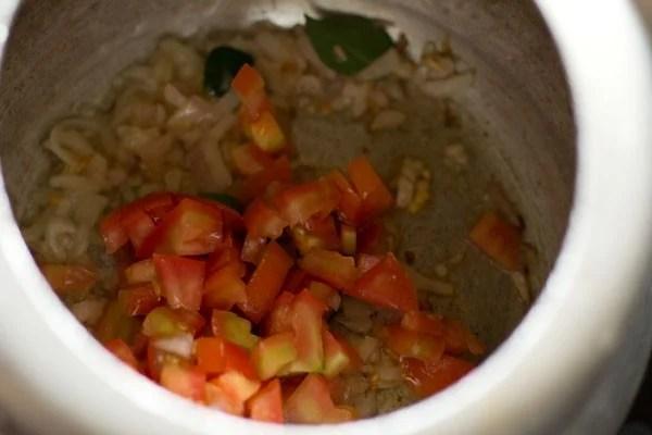making vegetable kurma recipe