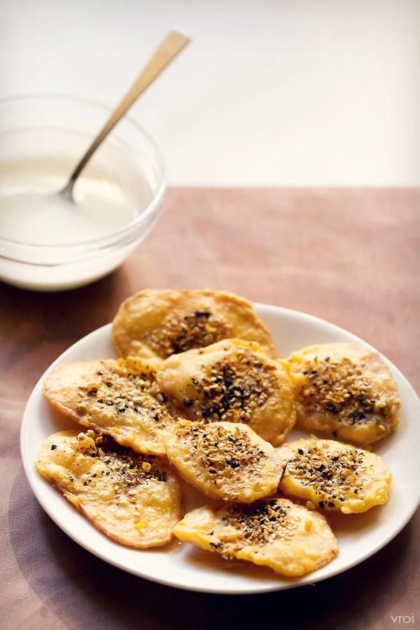 kand bhajiya recipe
