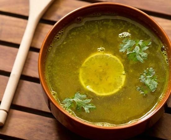 lemon coriander rasam recipe