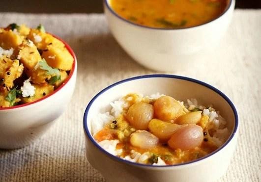onion sambar recipe