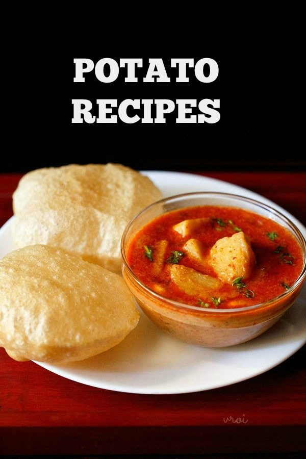 potato recipes, aloo recipes, indian potato recipes