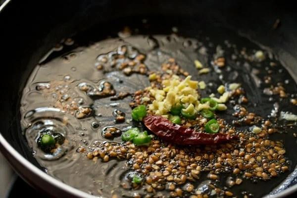 ginger for quinoa upma recipe