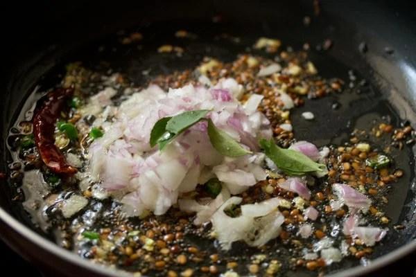 onions for quinoa upma recipe