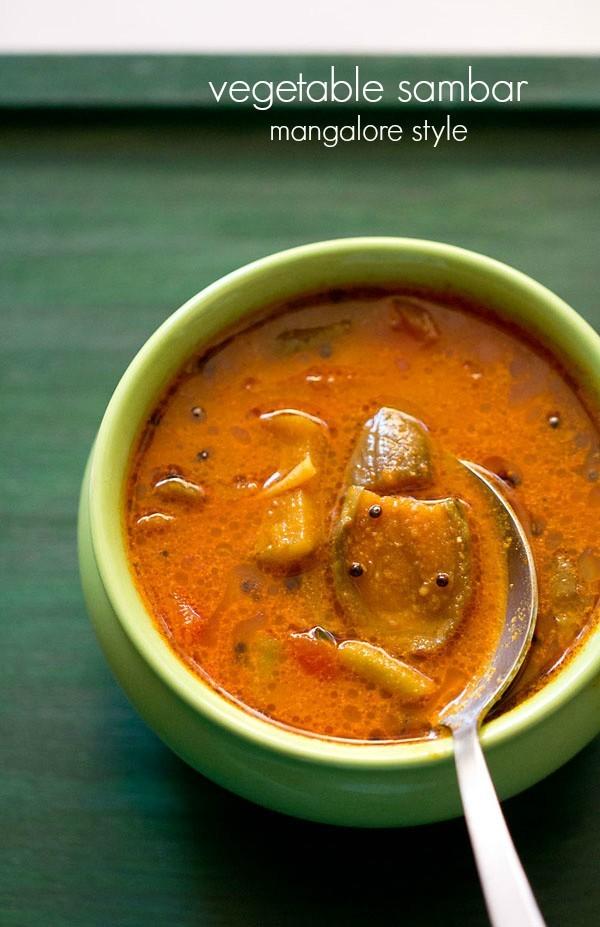 sambar recipes, sambar varieties