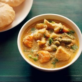 veg kurma recipe, vegetable kurma recipe