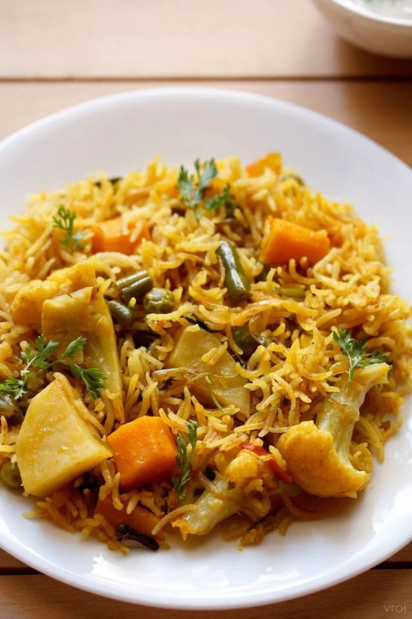 vegetable taheri recipe