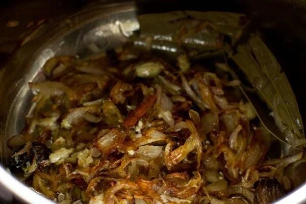 ginger for vegetable tahiri recipe