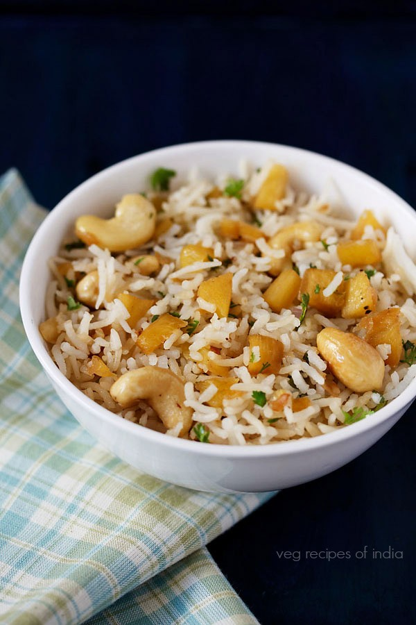 pineapple veg fried rice recipe