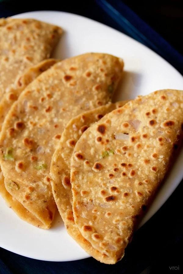 Punjabi missi roti recipe, missi roti recipe
