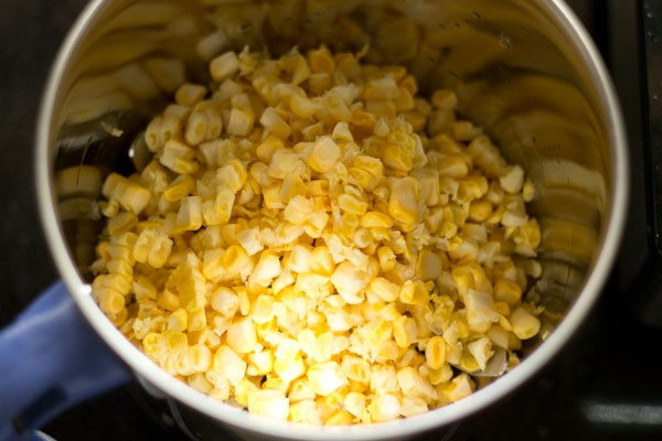 corn for sweet corn kheer recipe