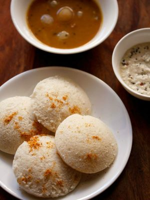 idli recipe with idli batter in mixie