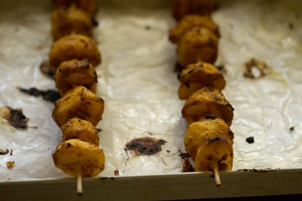 baked tandoori aloo recipe