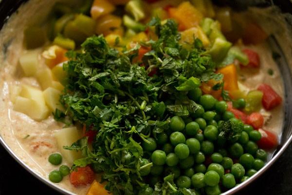 veggies for veg biryani recipe in pressure cooker
