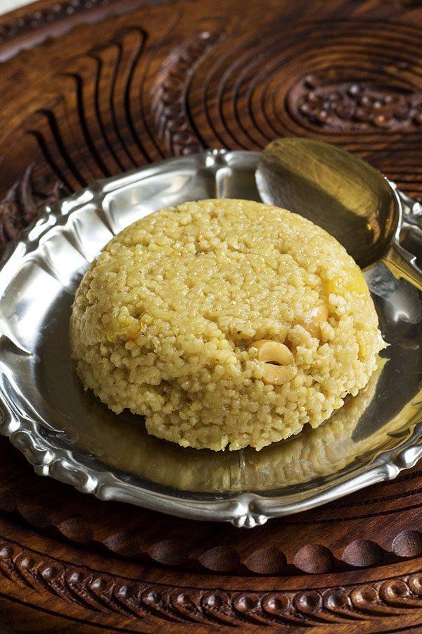 Foxtail Millet Pineapple Kesari Sheera Recipe