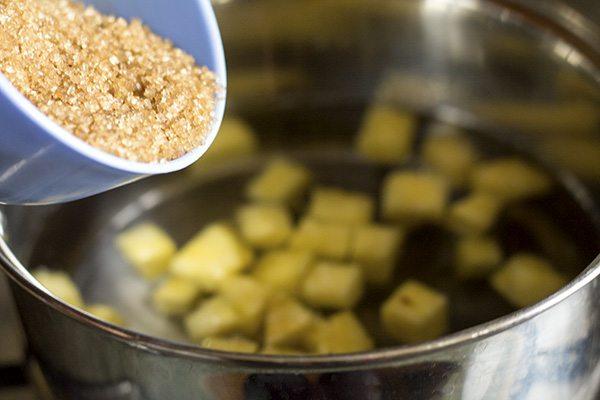 Foxtail Millet Pineapple Kesari or Sheera