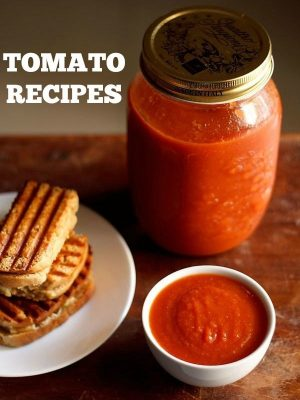 tomato recipes, indian tomato recipes, tomato chutney recipes