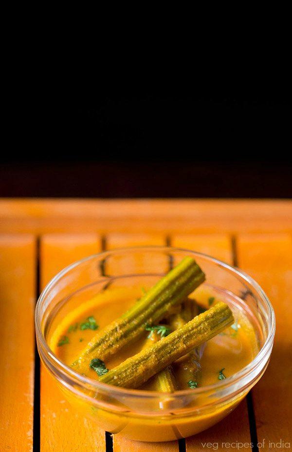 Goan drumstick coconut curry recipe