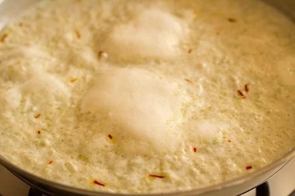 making lauki kheer recipe
