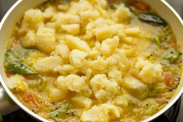 making potato sagu recipe