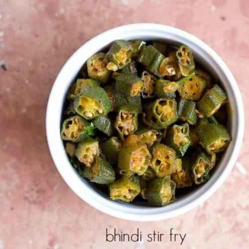 ladies finger fry recipe