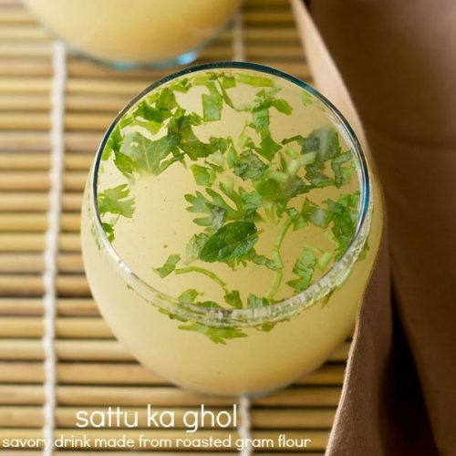 namkeen sattu drink recipe, sattu ka ghol recipe