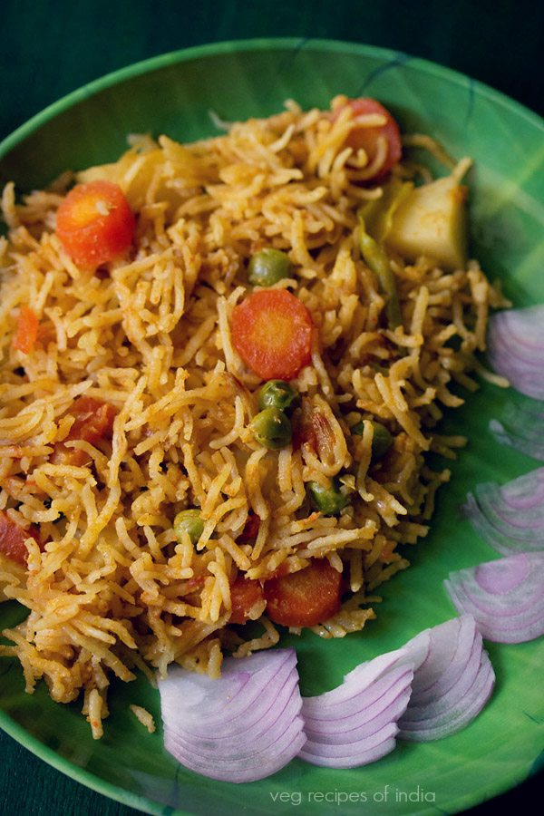 Mangalore style biryani