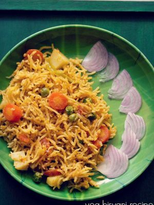 veg biryani recipe mangalorean style