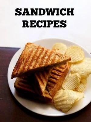 veg sandwich recipes, sandwich recipes