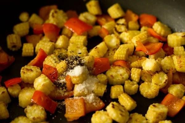 add ½ teaspoon crushed black pepper