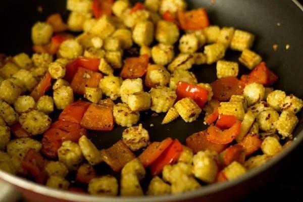 making baby corn fry recipe