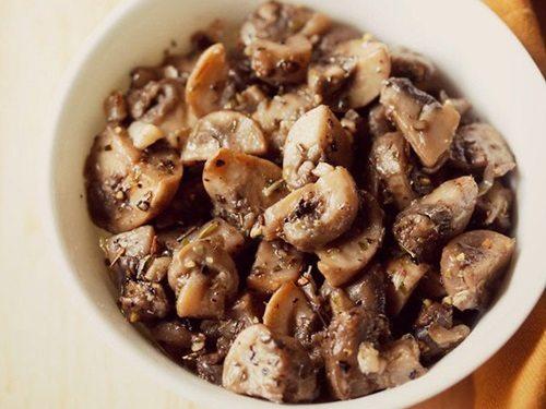 garlic butter mushroom recipe