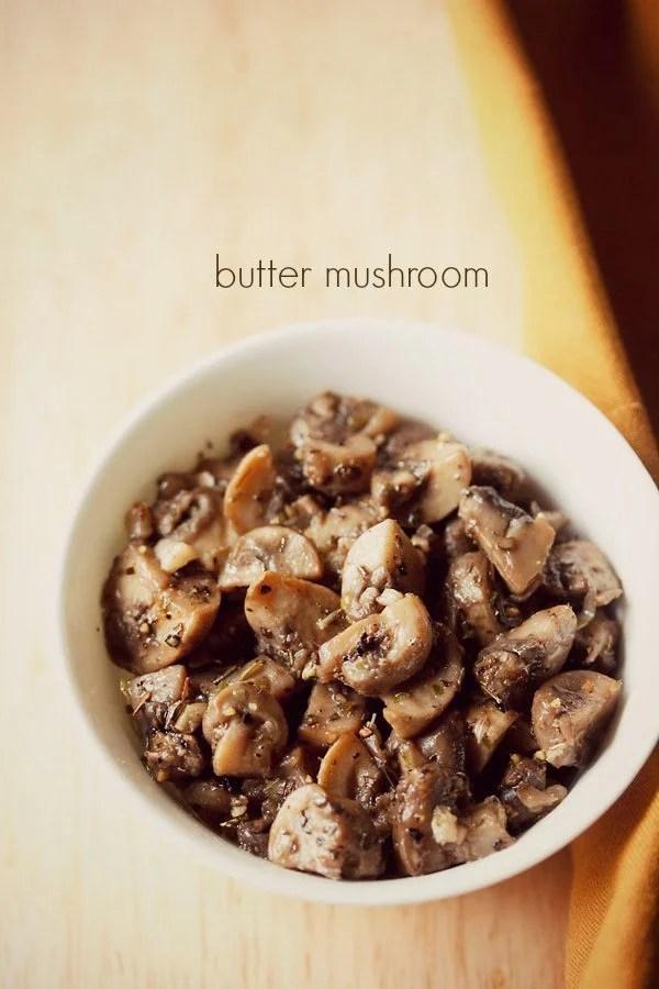 butter mushroom recipe