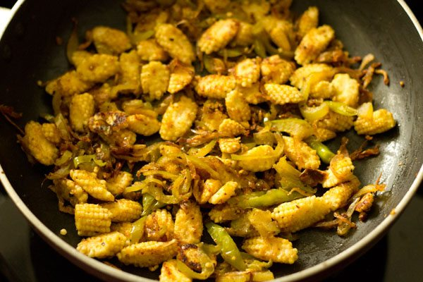 making making chilli baby corn recipe