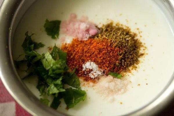 making jeera raita recipe