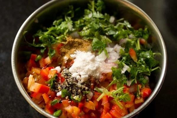making mango salsa recipe