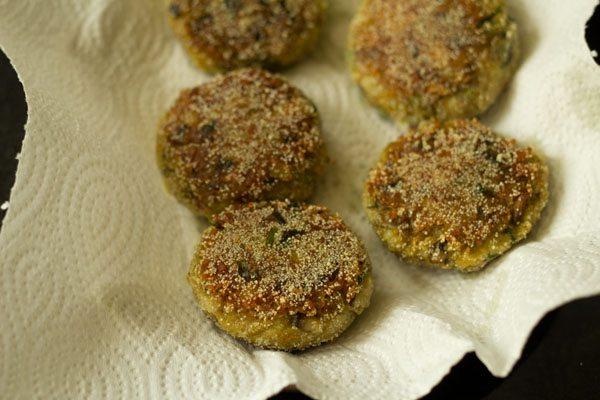 mushroom patties recipe