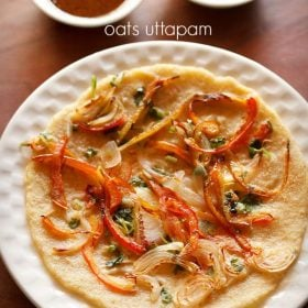 oats uttapam veg recipe