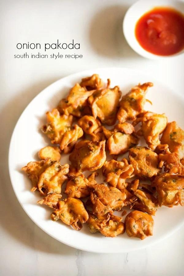 onion pakoda recipe