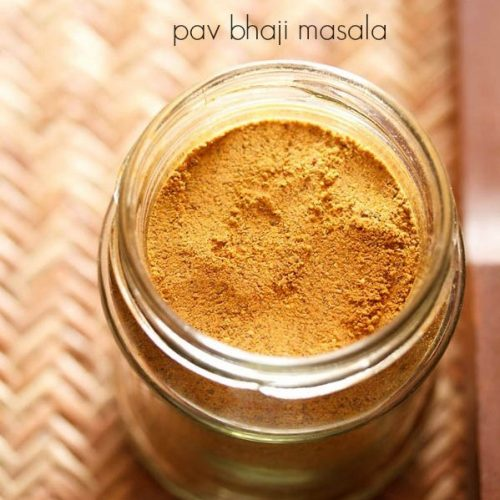 pav bhaji masala powder recipe
