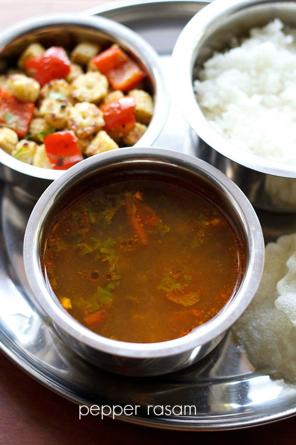 pepper rasam recipe, milagu rasam recipe, spicy rasam recipe