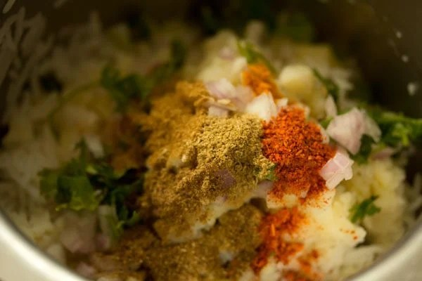 spices to make rice cutlet recipe