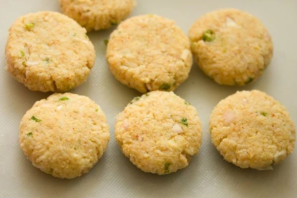 patties for making rice cutlet recipe