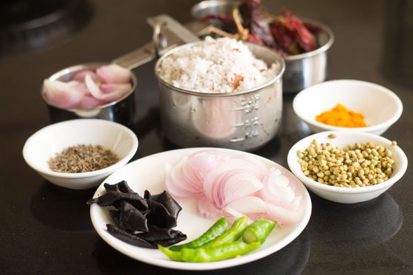 ingredients for sorak curry