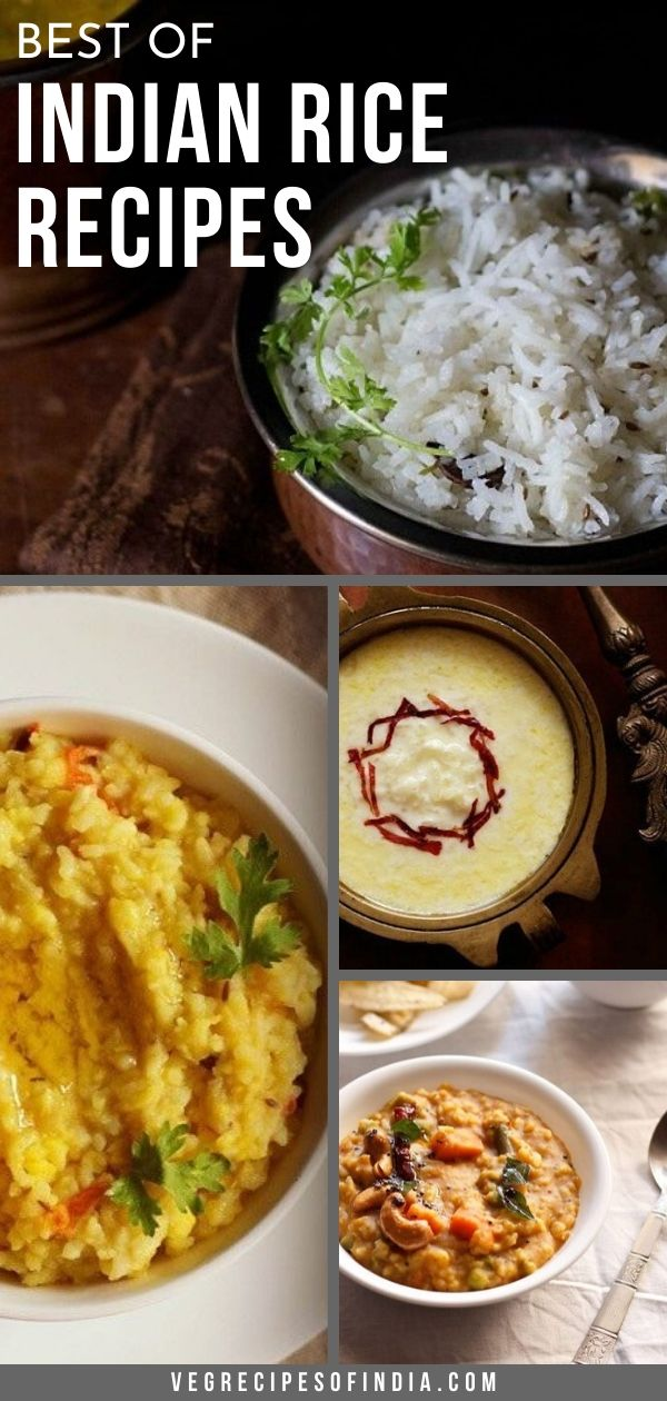 best indian rice recipes