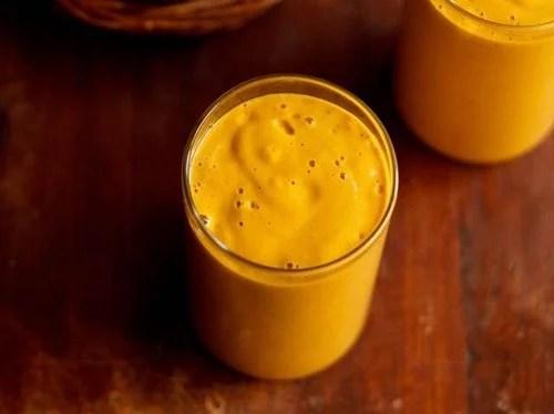banana mango milkshake recipe