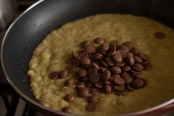 chocolate chips to make chocolate modak recipe