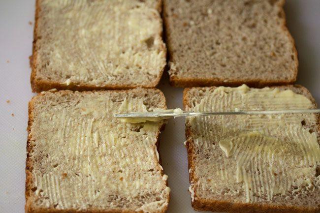 making chocolate sandwich recipe